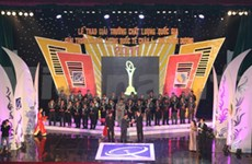Vietnamese firms receive national quality awards