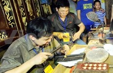 Jewellry craft festival opens in Hanoi Old Quarter