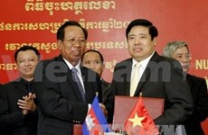 Vietnam, Cambodia ink defence cooperation plan