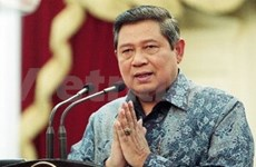 Indonesian President elected DP Chairman