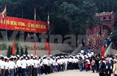 Over 1,400 Hung Kings relic sites to offer incense