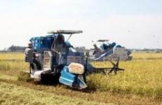 Mekong delta farmers look to mechanisation benefits
