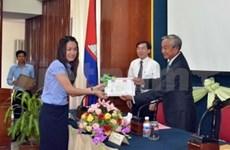 Vietnamese course for Cambodian officials ends