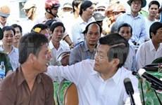 President vows better policies for fishermen