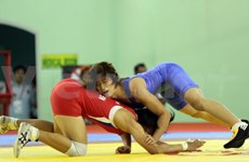 Vietnamese wrestler attends Asian championships