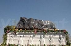 Sapphire Buddha statue sets national record
