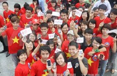 Red Cross-Red Crescent movement marked in Hanoi
