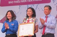 Winners of UPU letter writing contest honoured