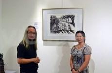 Singaporean painter exhibits works on Vietnam