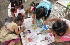 Children's art contest marks Vietnam-Australia ties
