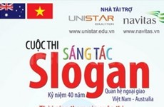 Slogan contest on Vietnam-Australia ties launched