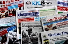 Lao newspapers praise Hoang Anh Gia Lai group