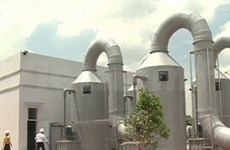 Taps open on waste water treatment plant