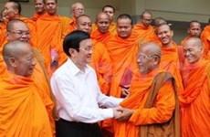 President inspects Soc Trang's overall development