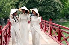 Vietnamese Ao dai honoured at sea festival