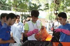 HCM City youth active in environmental protection
