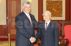 Leaders receive Cuban First Vice President