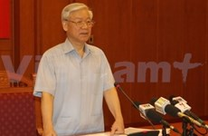 Party chief: Anti-corruption work needs high resolve