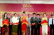 Vietnam-Laos trade fair 2013 opens