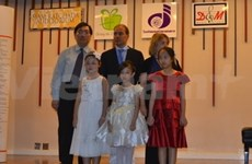 Vietnamese child pianist wins first prize in Thailand