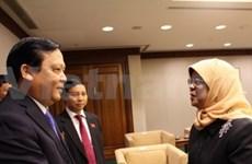Vietnam, Singapore legislatures strengthen ties