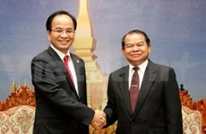 HCM City, Vientiane beef up telecom cooperation