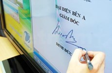 Decree advances digital signatures