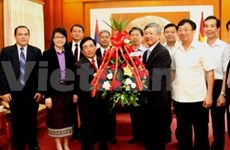 Laos congratulates Vietnam's 68th National Day