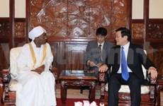 President welcomes new Ambassadors