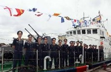 Marine police mark 15th founding anniversary