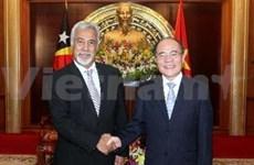 Vietnam wants closer legislative link with Timor Leste