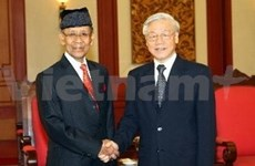 Malaysian Sultan wraps up visit to Vietnam