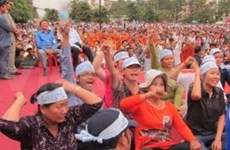 Cambodian opposition party's protest allowed under conditions