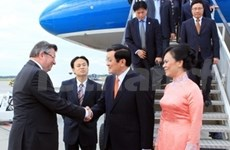 President Sang starts visit to Hungary