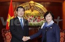 Vietnam asks for Japan's assistance in HR training