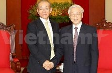Leaders laud Japanese ambassador's service