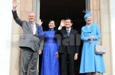 President begins State visit to Denmark