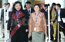 Vietnamese officials attend 34th AIPA related events