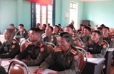 Dien Bien helps Lao localities train border officers