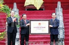 Upholding value of Lam Kinh cultural-historical heritage
