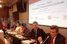 Vietnam, Italy boost economic cooperation