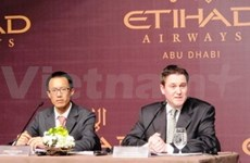 HCM City-Abu Dhabi direct air route launched