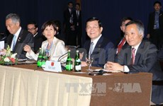 President Sang stressed determination for TPP negotiations