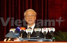 Party Central Committee's eighth conference closes