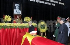 Funeral starts for General Vo Nguyen Giap