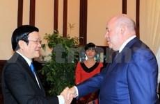 President receives Russian cultural envoy