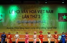 Overseas Vietnamese in RoK celebrate homeland culture