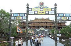 Hue relic complex serves 1.6 million visitors in ten months