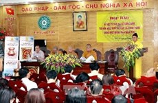 King-Monk's attainment of Nirvara commemorated