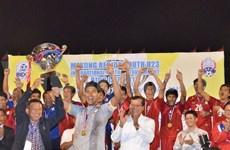 Thai football team triumphs BIDC Cup 2013